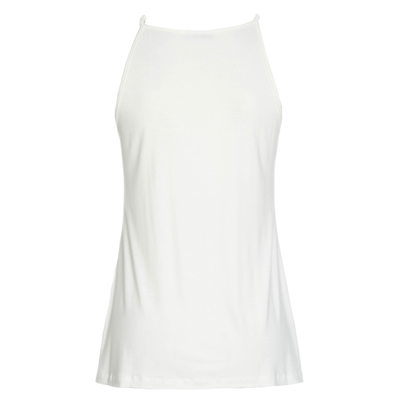 Blusa Com Argola No Decote Off White